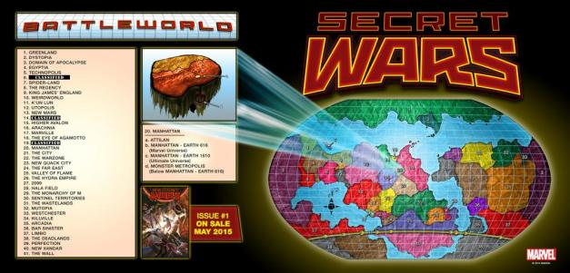 Secret War III Battleworld