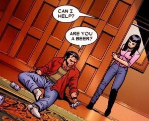 Astonishing X-Men Giant Size Wolverine Are You A Beer