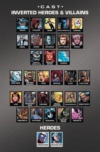 AXIS 7 Cast List