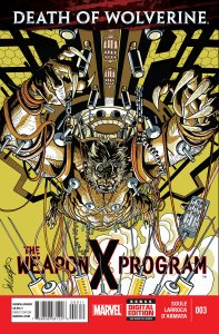 Death of Wolverine Weapon X Program 3
