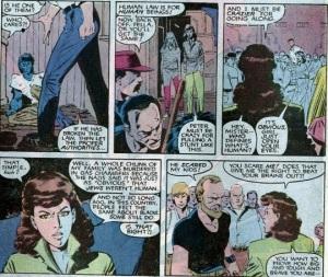 Uncanny X-Men 210 Kitty 1