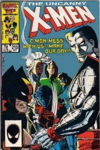 Uncanny X-Men 210