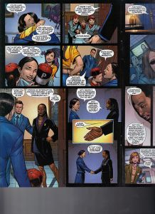 X-Men  The End  Book Three  Men and X-Men 6 President Pryde 2