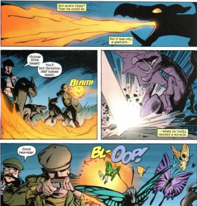 X-Men Unlimited 43 Lockheed 1