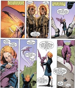 X-Men Unlimited 43 Lockheed 5