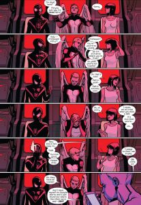 All New X-Men 35 Shadowcat dialogue