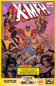 Marvel 75th Celebration Internet's Most Requested X-Characters on One Team