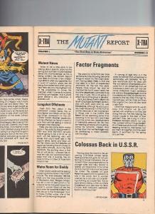 Marvel Age 39 Colossus USSR Miniseries Magik