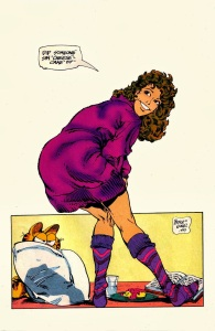 Marvel Fanfare 9 Butch Guice Shadowcat cheesecake