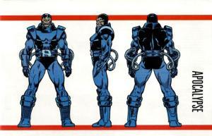 Marvel Handbook Master Edition Apocalypse