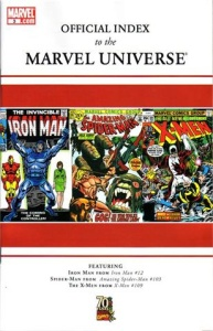 Official Index to the Marvel Universe 3