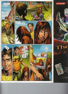 Ultimate Spider-Man 95 Shadowcat mention 1