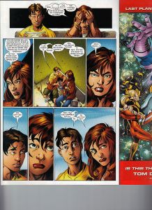 Ultimate Spider-Man 95 Shadowcat mention 2