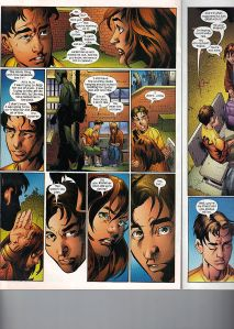 Ultimate Spider-Man 95 Shadowcat mention 3