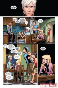 Ultimate Spider-Man V2 11 Shadowcat mention 1