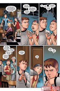 Ultimate Spider-Man V2 11 Shadowcat mention 4