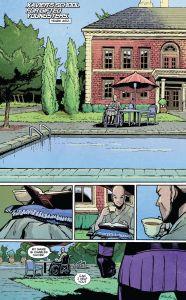 Uncanny X-Men V3 29 Xavier drinking tea
