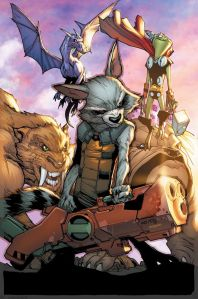 May 2015 Solict Guardians Team-Up 5 Lockheed Pet Avengers