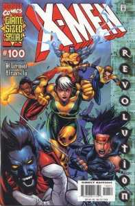X-Men 100 Yu Original Cover