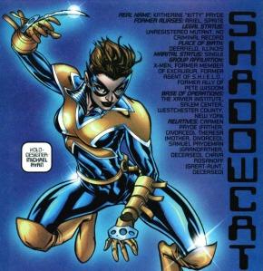 X-Men Declassified Shadowcat Micahel Ryan