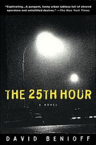 25th Hour Novel