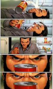 Astonishing X-Men 17 Wolverine Beer