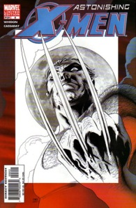 Astonishing X-Men 8 Sketch Variant
