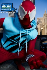 Atlantic City Boardwalk Con 2015 Scarlet Spider Cosplay