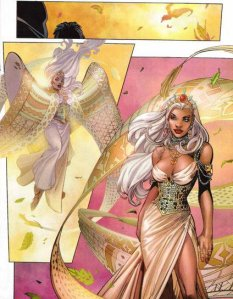 Black Panther V4 18 Storm's Dress
