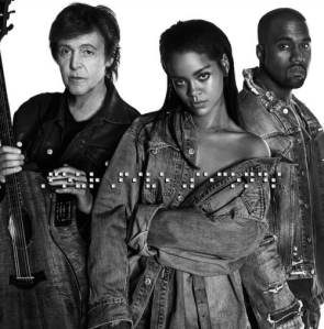 FourFiveSeconds Rihanna Kayne West Paul McCarthy