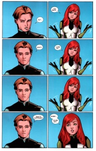 All New X-Men 40 Jean Outs Bobby 1