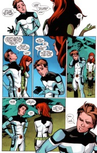 All New X-Men 40 Kitty mention