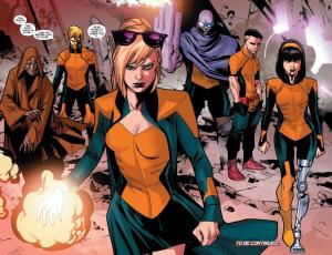 All New X-Men 40 Utopians