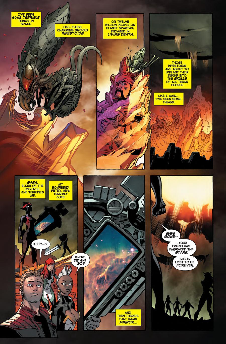 Black Vortex Omega Kitty Mention