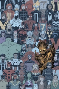 Marvel July 2015 Solict Groot 2 Shalvey