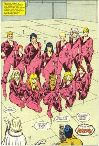 New Mutants V1 39 Magik as a Hellion Keith Pollard