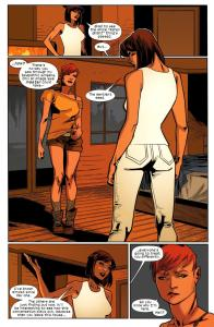Ultimate Comics X-Men 28 Kitty 5