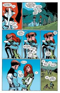 All New X-Men 40 Bobby calls Jean a nosy bitch