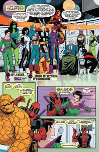 Deadpool's Secret Secret Wars 1 Lockheed 1A