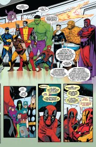 Deadpool's Secret Secret Wars 1 Lockheed 1B