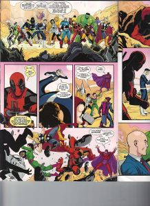 Deadpool's Secret Secret Wars 1 Lockheed 2