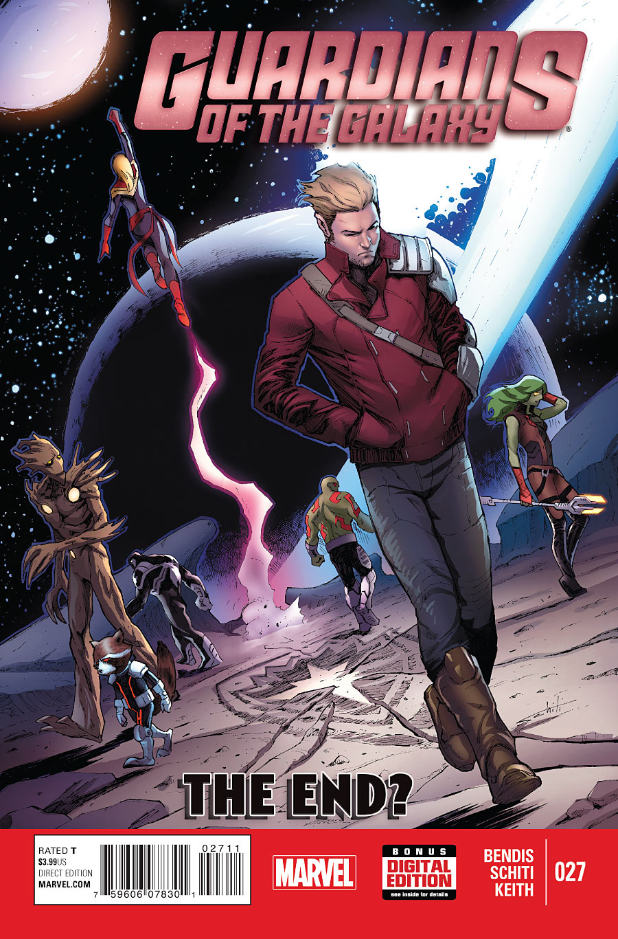 guardians of the galaxy volume three issue 27 shadow and