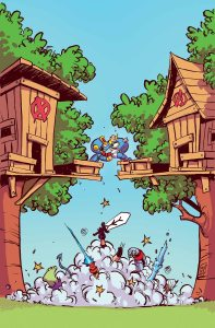 Marvel August 2015 Solicts Giant Sized Little Marvel AvX 3 Skottie Young