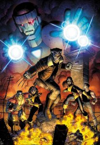 Marvel August 2015 Solicts Years of Future Past 4 Art Adams