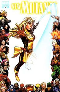 New Mutants V3 4 70th Anniversary Variant