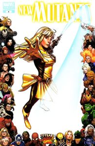 New Mutants V3 4 70th Anniversary Variant