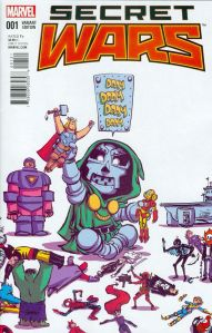 Secret Wars 2015 1 Skottie Young Baby Variant
