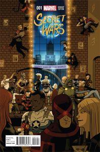 Secret Wars 2015 1 Zdarsky Party Variant