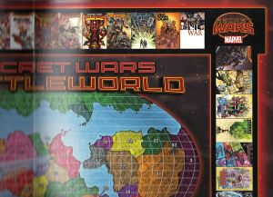 Secret Wars 2015 Battleworld Map B