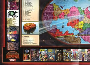 Secret Wars 2015 Battleworld Map C
